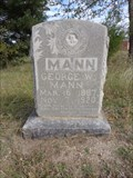 Image for George W. Mann - Bloomfield-Jones Cemetery - Cooke County, TX