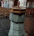 Image for Medieval Font - Eglwys Sant Padarn - Llanberis, Snowdonia