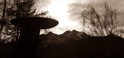 Bunker Italia museo - alpine wall