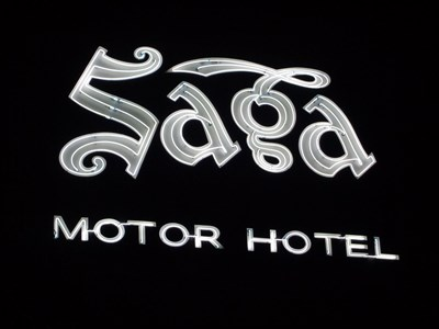 veritas vita visited Saga Motor Motel