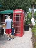 Image for Starbucks Red Phone Booth - Tampa, FL
