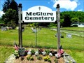 Image for McClure Cemetery sign - McClure, NY