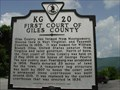 Image for First Court of Giles County