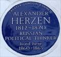 Image for Alexander Herzen - Orsett Terrace, London, UK