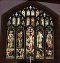 Image for Stained Glass, Jesus Church, Troutbeck, Cumbria, UK