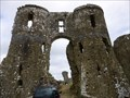 Image for LLawhaden Castle - Satellite Oddity - Pembrokshire, Wales, Great Britain.