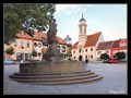 Image for Fountain with St. Florian statue - Uherský Brod, Czech Republic