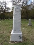 Image for William E. Stevenson - Boren Cemetery - Reagor Springs, TX
