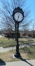Image for Depot Park Clock - Pleasant Hill, Mo.