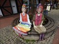 Image for Kreiselfrau Frauke und Soltowine - Marktstraße - Soltau, Niedersachsen, Germany