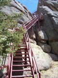Image for Devil's Head Fire Lookout Stairway - Douglas County, Colorado