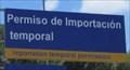 Image for Importation Temporal Permission -- Nuevo Progreso MX
