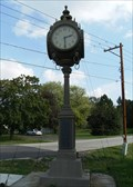 Image for Shopiere Clock War Memorial - Shopiere, WI