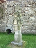 Image for Stone Totem - Scouts Monument, Polná, Czech republic