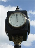 Image for Transit Center Park Clock - Janesville, WI