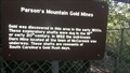 Image for Parson's Mountain Gold Mines - Abbeville County SC