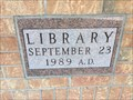 Image for 1989 - Norfolk County Public Library Waterford Branch, Waterford, ON