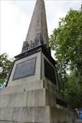 Image for Storm of 14 October 1877 -- Cleopatra's Needle, Victoria Embankment, City of Westminster, London, UK