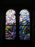 Image for Vitraux Alfred Manessier dans la chapelle du chateau de Vogüé (Ardèche)