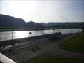 Image for Wilhelmshausen barrage lock, Fulda River, Germany