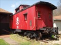 Image for B&O caboose #90363 - Coshocton County, Ohio