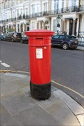 Image for Victorian Post Box - Vicarage Gate, London, UK