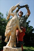 Image for Heron Chainsaw Carving