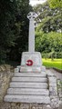 Image for Combined WWI / WWII memorial cross - St Kew, Cornwall