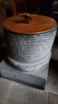 Image for Baptism Font - St Mary - Tissington, Derbyshire
