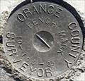 Image for Orange County Surveyor 1D-106-05 Benchmark - Fountain Valley, CA