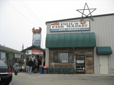 Phils Fish Market on Phil S Fish Market   Eatery   Moss Landing  Ca   Independent Fish