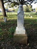 Image for EARLIEST Gravestone in Edgewood Cemetery - Edgewood, TX