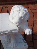 Image for Lion Benches at Langston University - Langston, Oklahoma