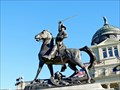 Image for Montana Capitol statue memorializes colorful character