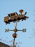 Image for Locomotive Weathervane - Chester, NS