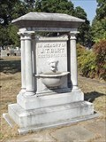 Image for J. T. Burt Memorial Fountain - Oakwood Cemetery Historic District - Fort Worth, TX