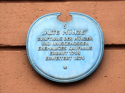 Alte Münze Maximilianstraße 90 Speyer Rlp Germany Blue