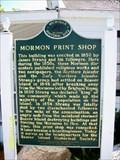Image for Mormon Print Shop