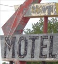 Image for Washita Motel - Route 66 Neon - Canute, Oklahoma, USA.
