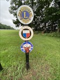 Image for Lions Clubs International Marker - Three Rivers, Michigan USA