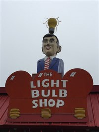 The Lightbulb Shop Sign, Austin, Texas