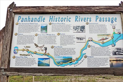Panhandle Historic Rivers Passage Old Town Id Idaho Historical