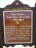 """Image for Doña Dolores """"Lola"""" Chávez de Armijo (1858-1929)"""