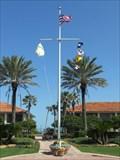 Image for Ponte Vedra Inn and Club Nautical Flagpole - Ponte Vedra Beach, FL