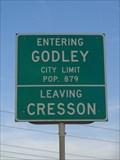 Image for Godley, TX - Population 879