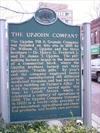 The Upjohn Company marker