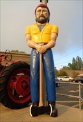 Image for Giant Lumberjack - Route 66 - Flagstaff, Arizona, USA.
