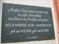 Image for Wohnhaus von Alexander v. Humboldt 1792 - 1795