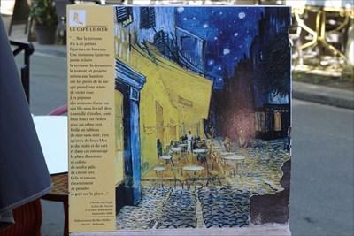 Terrasse De Café Le Soir By Vincent Van Gogh Arles France