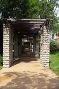 Image for Missouri Governor's Mansion Garden Pergola - Jefferson City MO